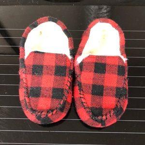 Toddler boy slippers